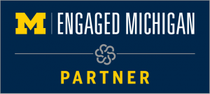 university of michigan engaged michigan partner
